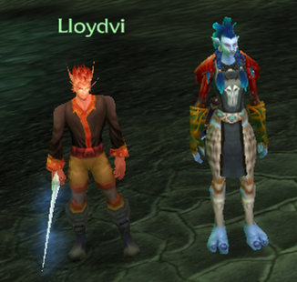 Lloydvi, C.'s toon, and Lan, almost 70.